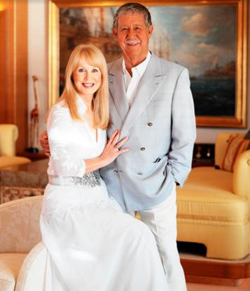 Reg Grundy and Joy Chambers-Grundy