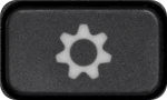 A button with a cog icon on it.