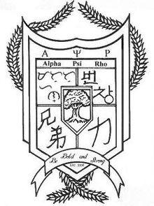 Alpha Psi Rho Crest
