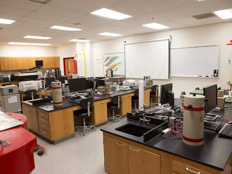 A classroom laboratory