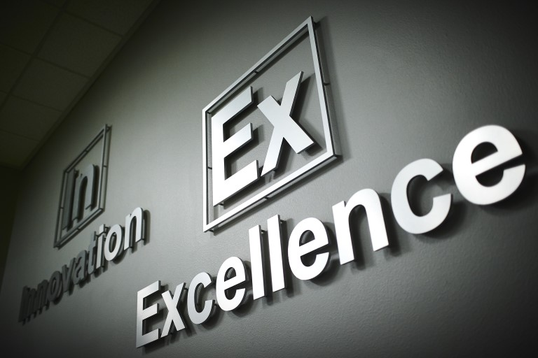 Excellence sign