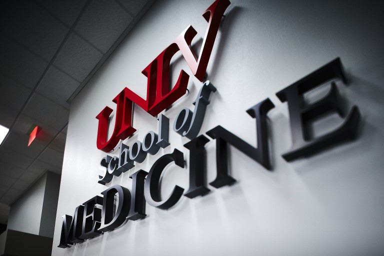 UNLV School of Medicine sign
