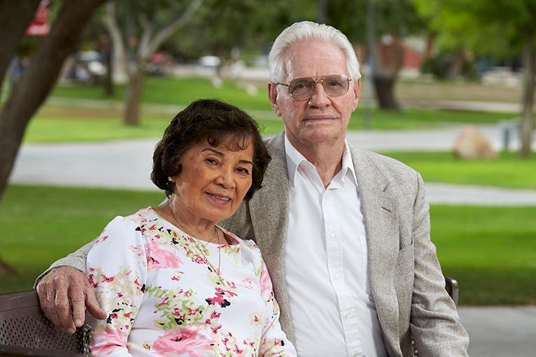 Jim and Toni Campton