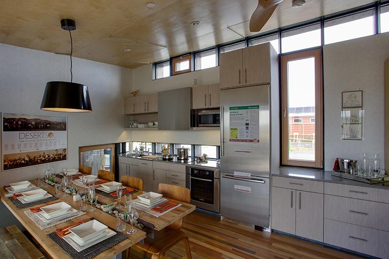 Desert Sol kitchen