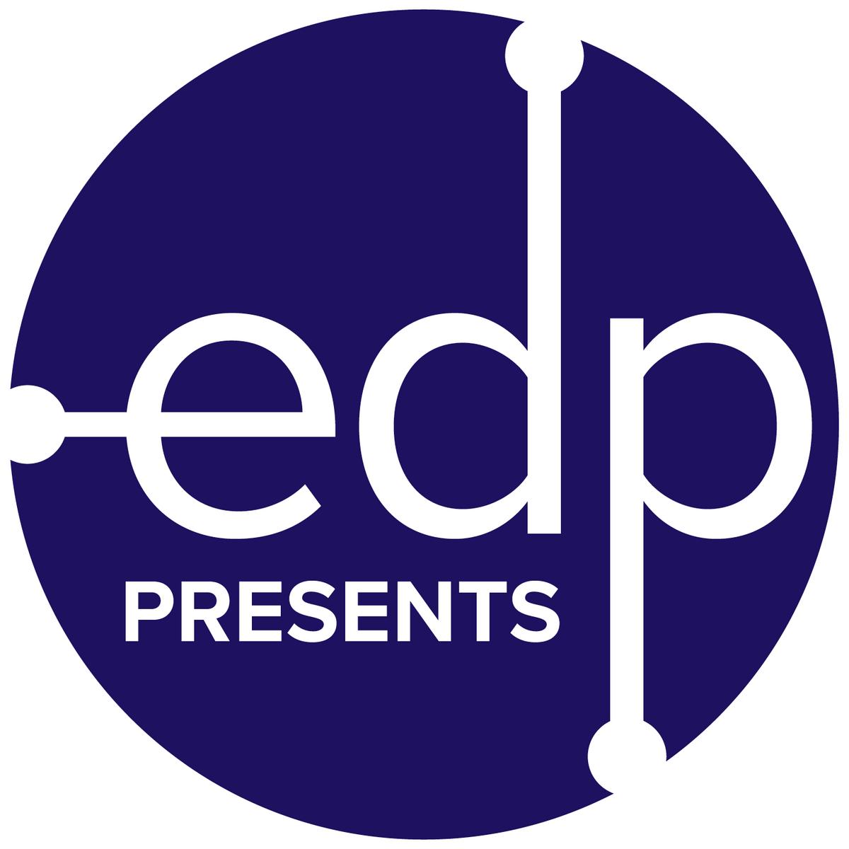 edp presents logo