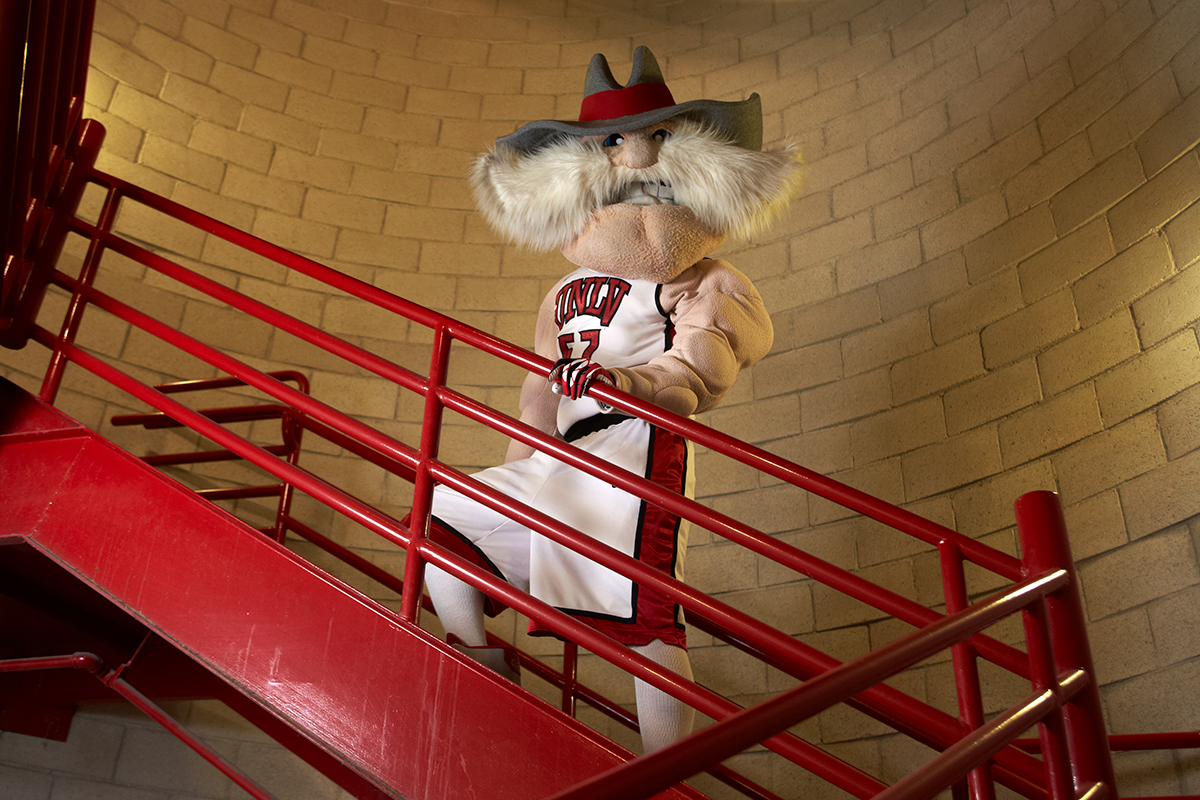 Hey Reb! using the stairs