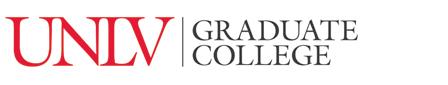 Graduate College signature