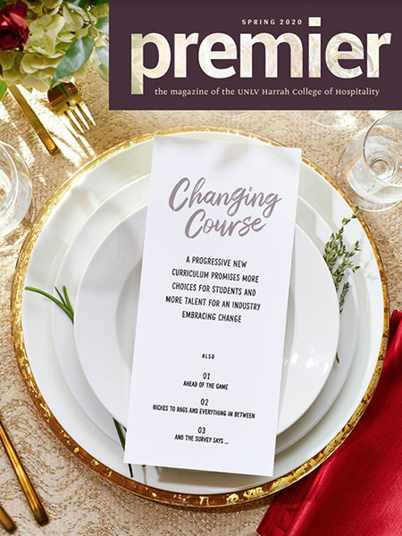 Premier Magazine Spring 2020 cover