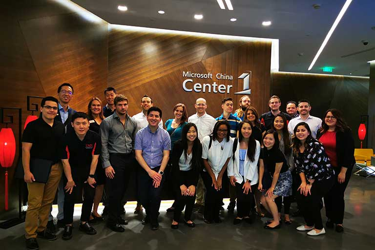 Microsoft China group photo