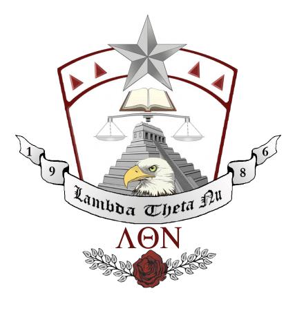 Lambda Theta Nu Crest