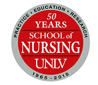 School of Nursing 50th Anniversary Logo