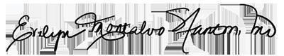 Evelyn Montalvo Stanton's signature