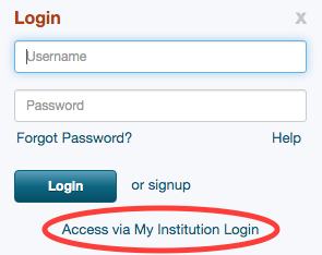 Pivot Login Screenshot