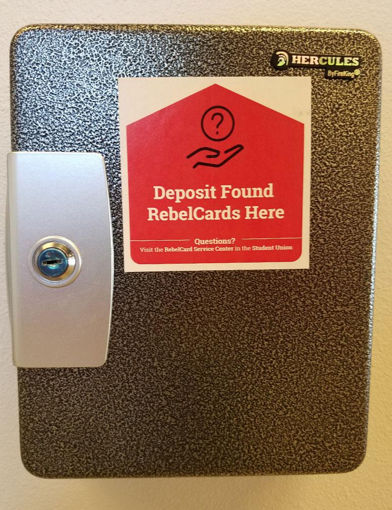 Lost Card Drop Box
