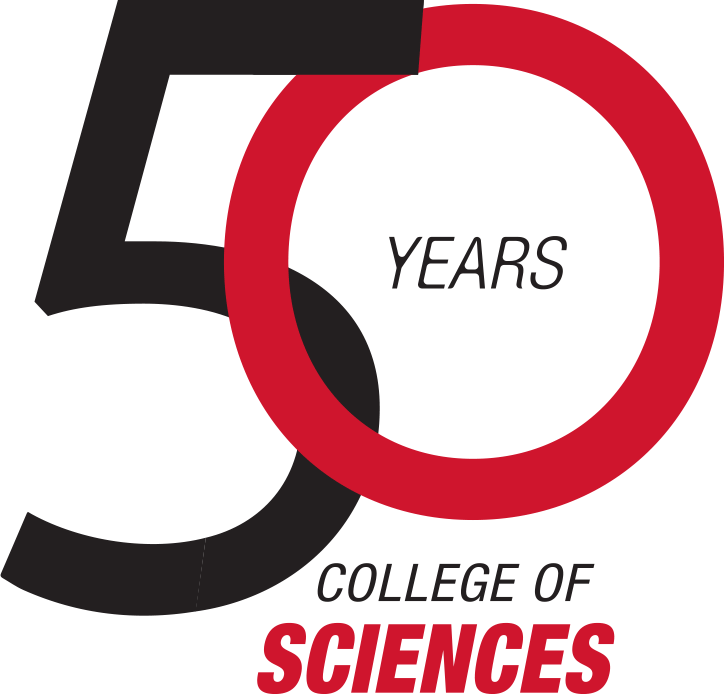 50th Anniversary College of Sciences logo