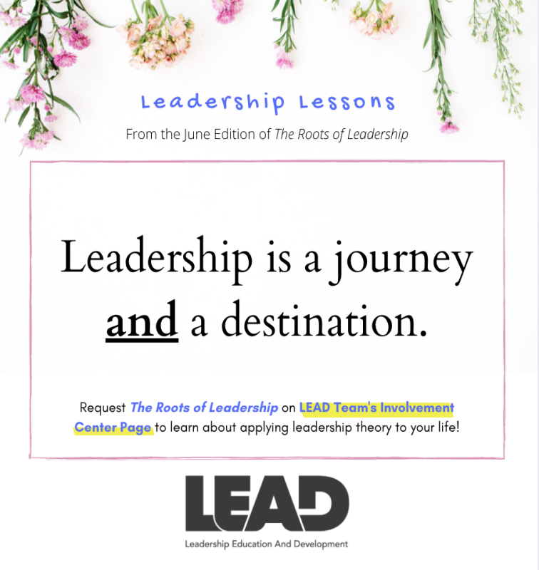 Leadership lessons infographic