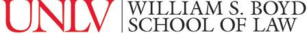 Boyd School of Law Horizontal Logo