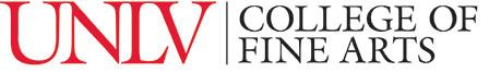 College of Fine Arts horizontal logo