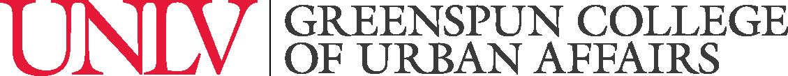 Greenspun College of Urban Affairs Signature