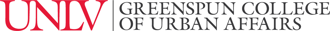 Greenspun College of Urban Affairs Signature