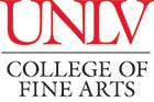 College of Fine Arts vertical logo