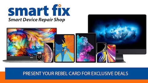 Smart Fix - Smart Device Repair Shop: Present Rebel Card for Exclusive Deals!