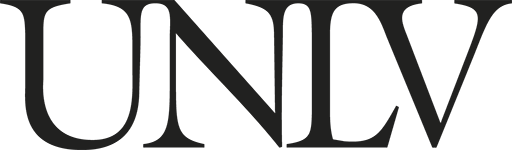 Official UNLV logo in black