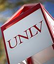 UNLV sign