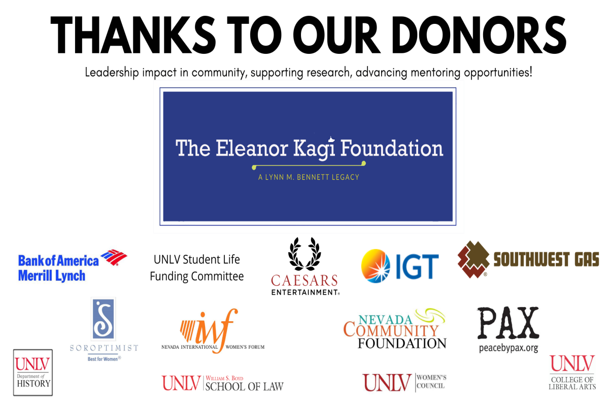Thanks to our donors: leadership impact in community, supporting research, advancing mentoring opportunities!