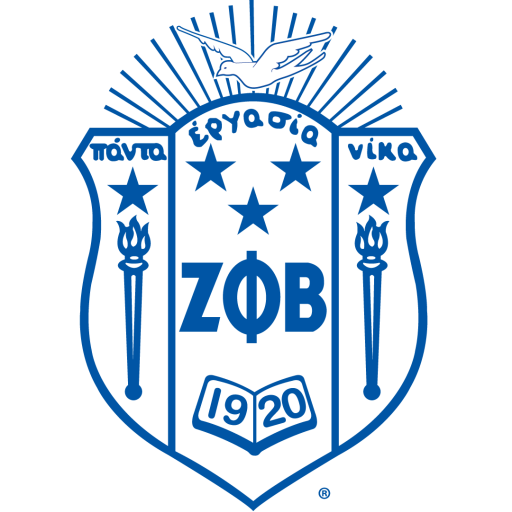 Zeta Phi Beta Crest