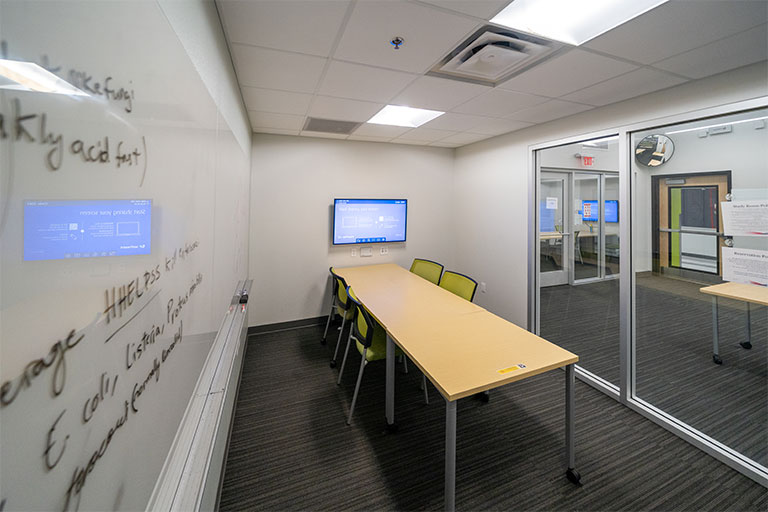 Study room in Shadow Lane Campus