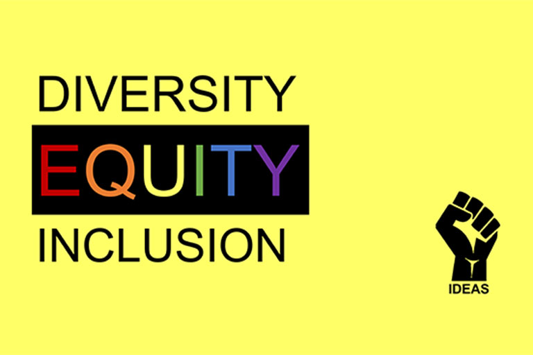 Diversity Equity Inclusion with IDEAS logo