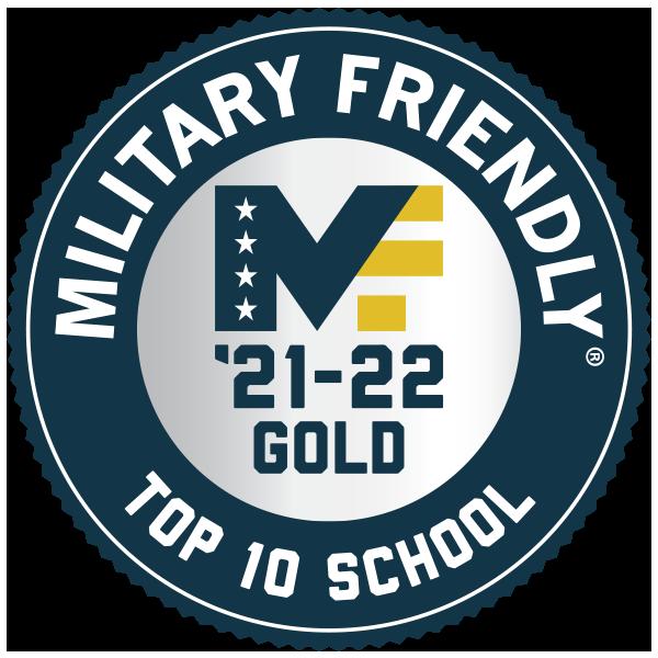 Military Friendly Top 10 School Logo