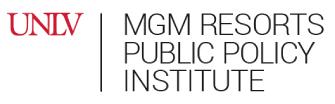 MGM Public Policy Resort at UNLV Logo