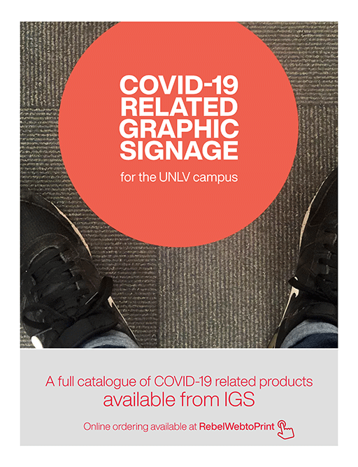COVID-19 Related Graphic Signage Catalog