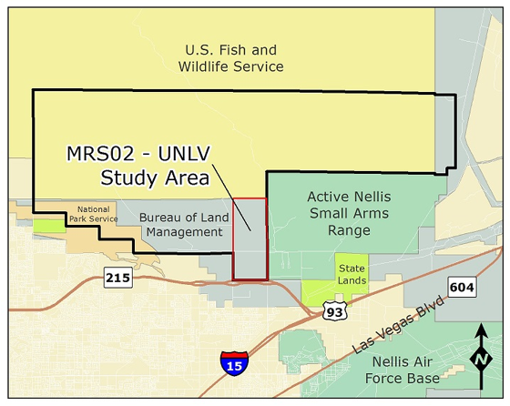 Map of the North Campus Area