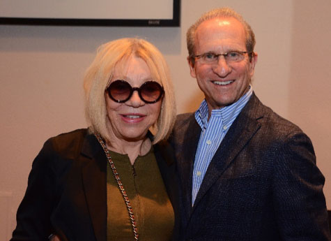 Sonja and Michael Saltman