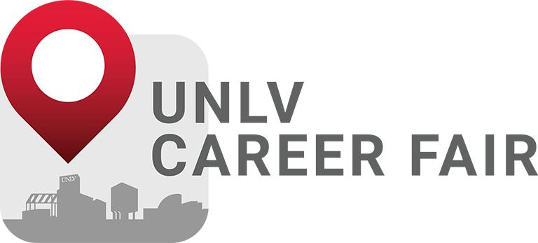 U-N-L-V Career Fair logo
