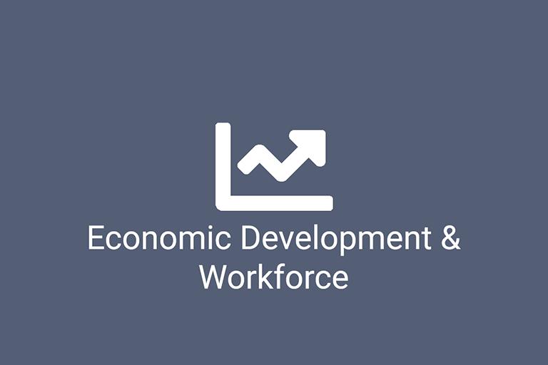 Economic Development & Workforce logo