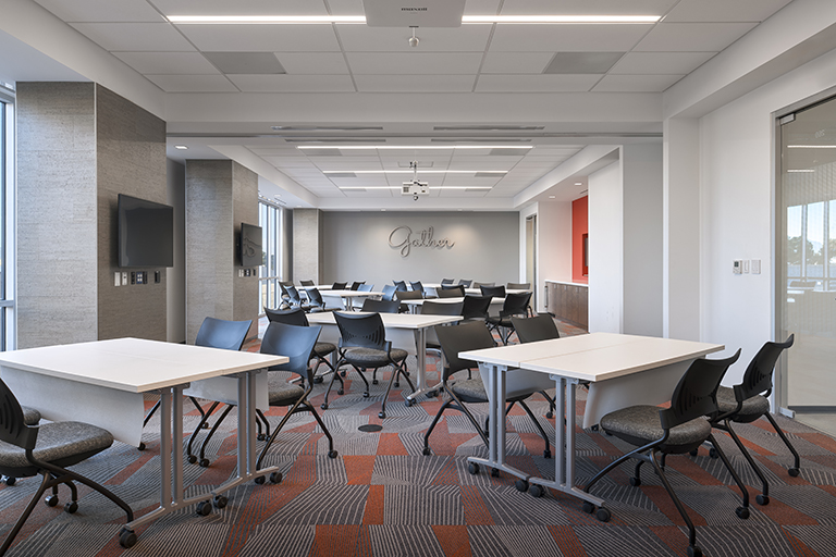 Conference room in the Rebel Gateway building