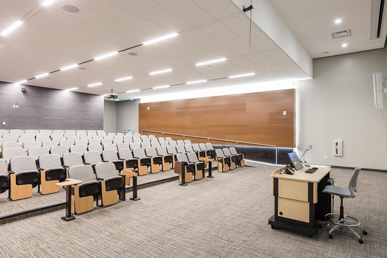 Hospitality Hall auditorium