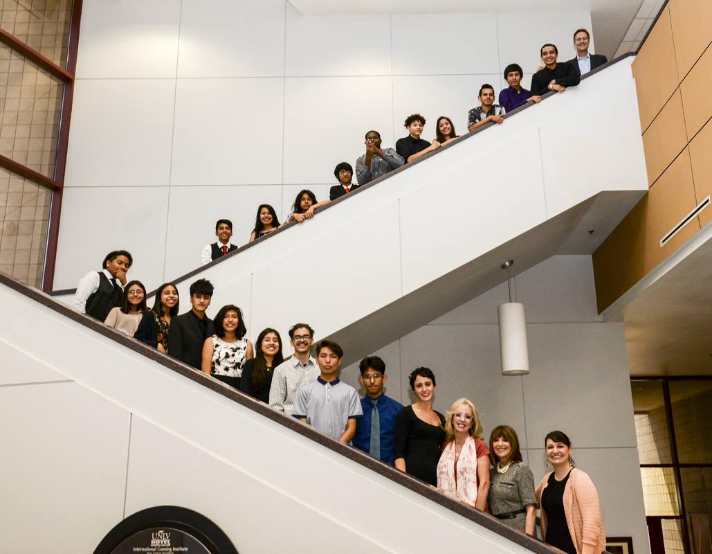 YES Program participants