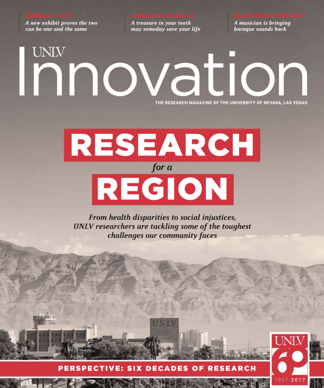 Cover of 2017 issue of Innovation magazine