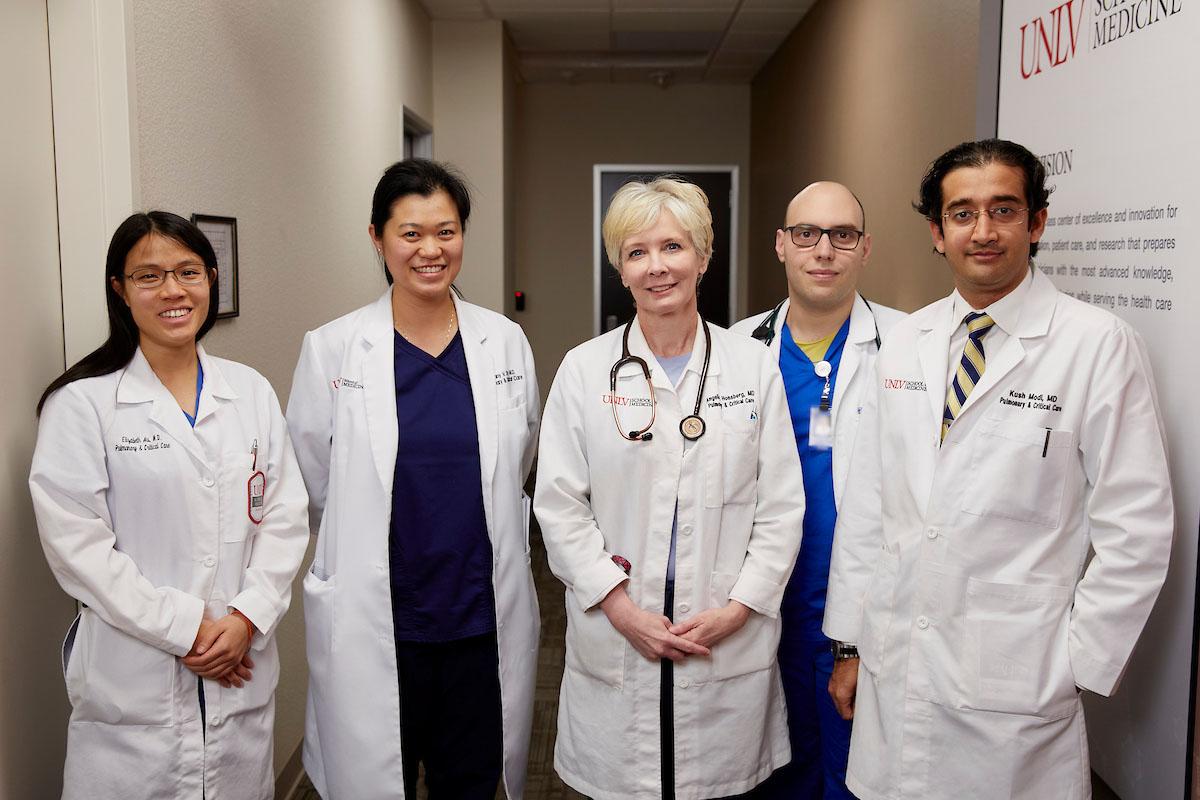 UNLV School of Medicine ICU Team