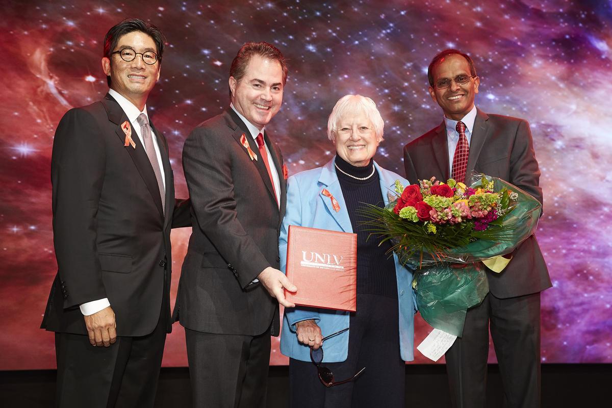 Selma Bartlett attends the UNLV Foundation Dinner
