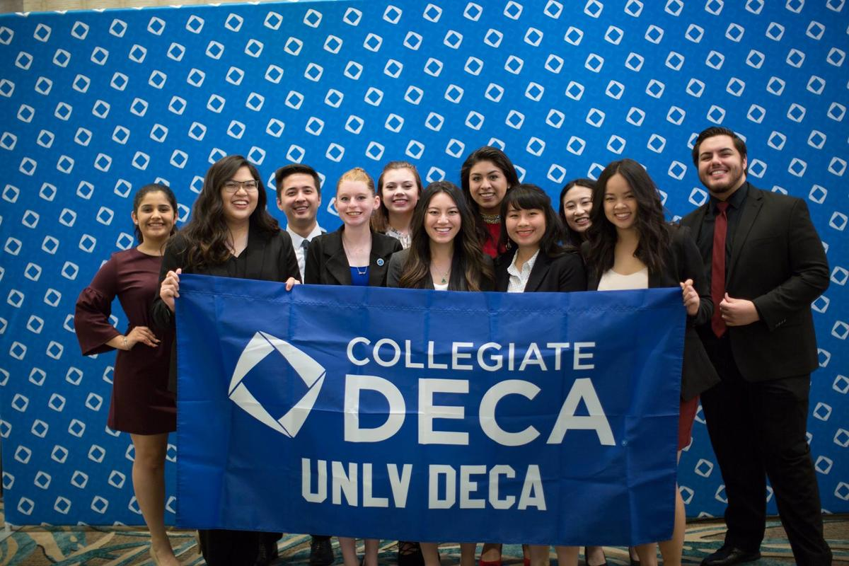 UNLV DECA collegiate chapter at ICDC in Orlando Florida