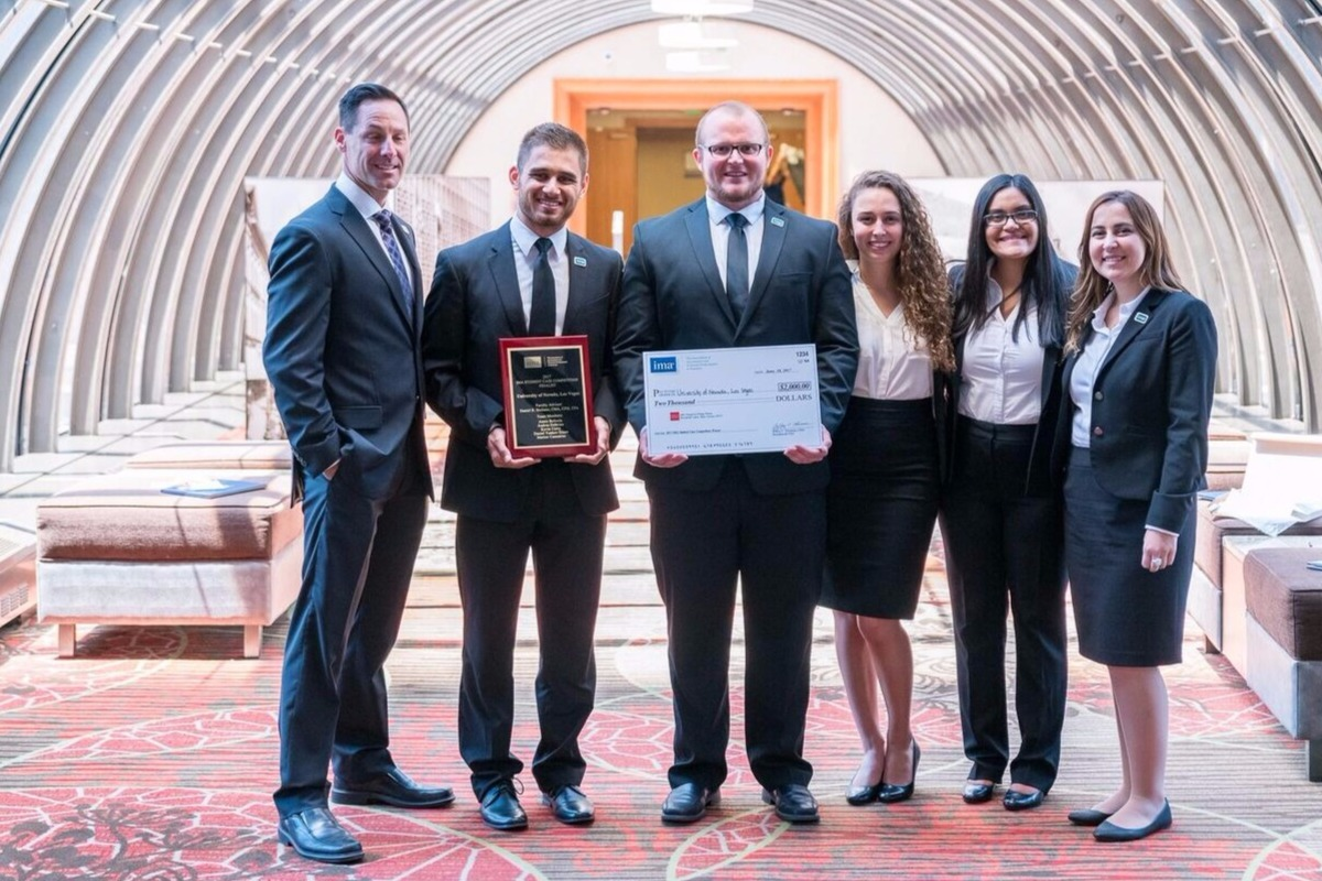 UNLV Lee Business School wins IMA case competition