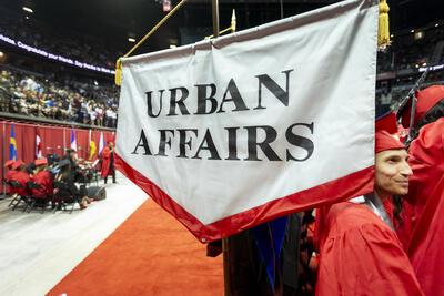 UNLV Urban Affairs flag