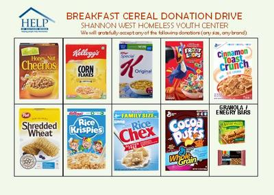 At the event, our college will collect cereal boxes for the Shannon West Homeless Youth Shelter at Help of Southern Nevada. Bring one box of cereal, and you'll get an extra entry for our grand prize. Bring three boxes or more, and you'll get to spin our wheel for a prize.