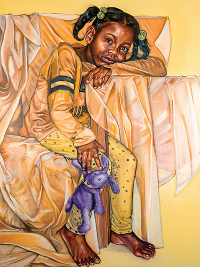 Painting by Q'shaundra James